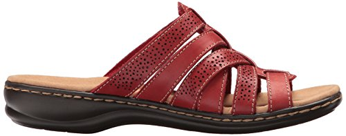 cheap sale shop for CLARKS Women's Leisa Field Platform Red Leather pay with visa cheap online discount Inexpensive cost cheap online ge4Saxm