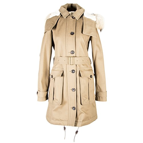 Burberry Brit Women's Dundee Coat Olive Brown