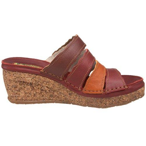 El Naturalista Donna N402 Sandalo Con Zeppa Tibet / Skimo / Cuero