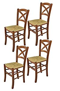 Tommychairs sillas de Design - Set de 4 Sillas Modelo Cross ...