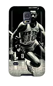 First-class Case Cover For Galaxy S5 Dual Protection Cover New York Knicks Basketball Nba I