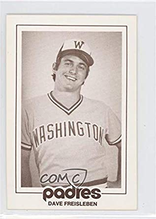 Amazoncom Dave Freisleben Baseball Card 1977 San Diego