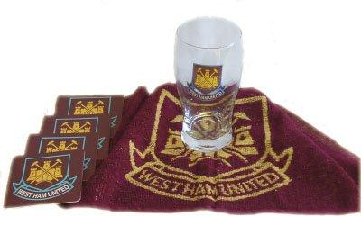 West Ham United FC Official Mini Bar Set