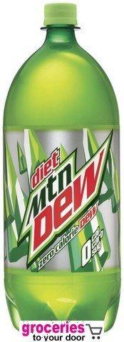 d9cdec6f3d72 Amazon.com : Mountain Dew Diet Soda, 2-Liter Bottle (Pack of 6 ...