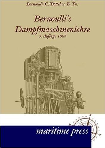 Book Bernoullis Dampfmaschinenlehre