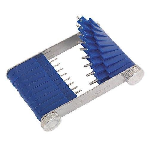 SEALEY CJT01 Attrezzo Getto carburatore, 0, 45-1, 5 mm, Confezione da 20