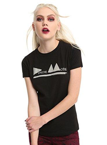 Hot Topic Depeche Mode Triangle Logo Girls T-Shirt ()