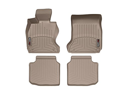 Kagu Rubber Black L1FR07121509 3D MAXpider Second Row Custom Fit All-Weather Floor Mat for Select Ford F-150 Models
