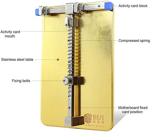 Professional Cell Phone Accessory Kits BST 001C Professional Stainless Steel Circuit Board Soldering Desoldering PCB Repair Holder Fixtures Cell Phone Repair Tool