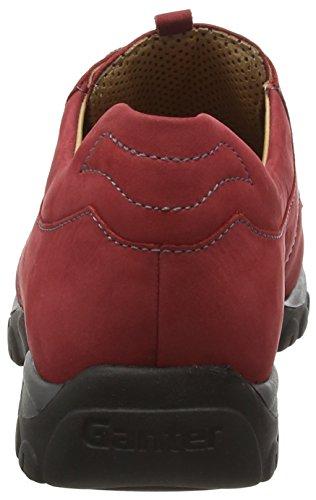 Cordones para Zapatos Ganter G Mujer Gwen Rojo Derby de Weite qnw14xS