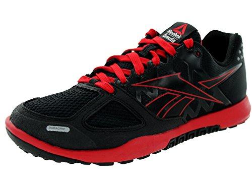Reebok Kids R Crossfit Nano 2.0 Black/Excellent/Red Training Shoe 6 Kids US
