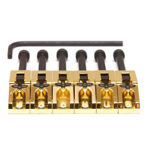 Graph Tech String Saver Classic Floyd Rose Saddles (Set of 6) Gold