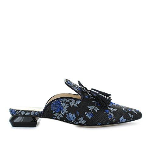 Mule Spring 2018 Black Blue Summer Shoes Women's Jeannot xwZ0IOa