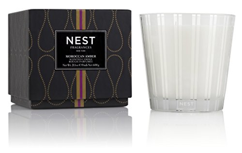 Nest 3 Wick Candle - NEST Fragrances 3-Wick Candle- Moroccan Amber, 21.2 oz