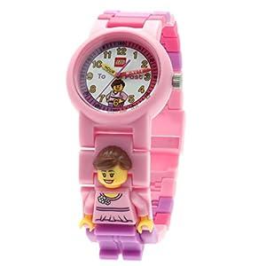 Lego Reloj, diseño Profesor de Tiempo, Color Rosa 9005039 2