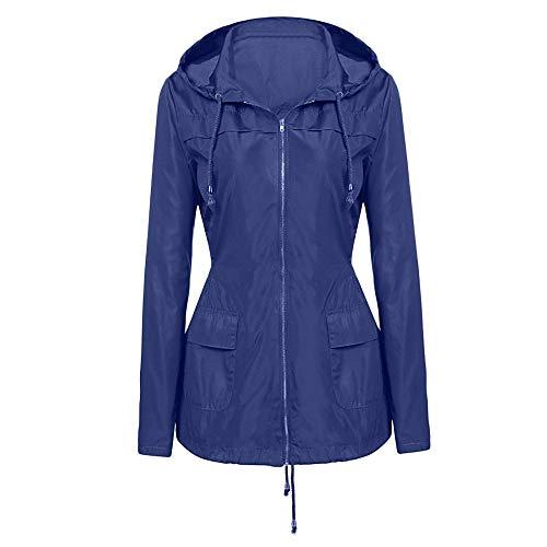 (Becoler Store Waterproof Hooded Raincoat, Windproof Rain Jacket Rain Jacket Rain Poncho for Outdoor Hiking Tourism)