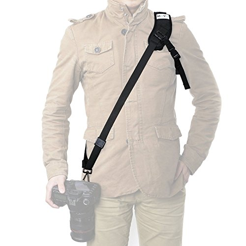 Movo NS3 Rapid Action Over-The-Shoulder Camera Sling Strap w