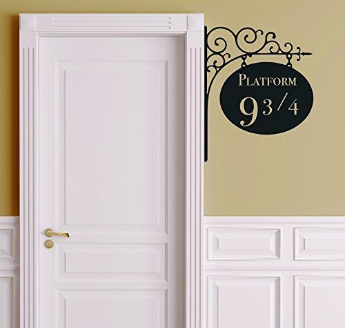 Harry Potter Platform 9 3/4 Door Decal