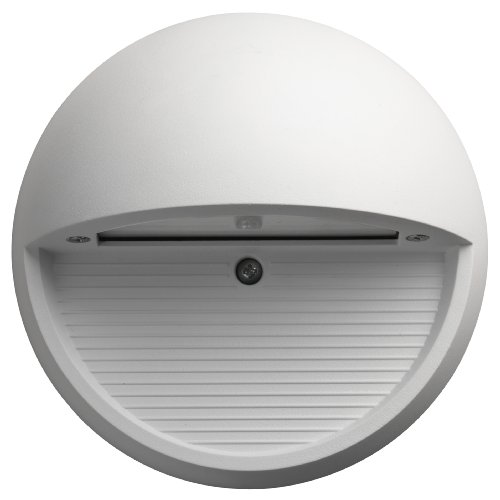 Lithonia Lighting OLSR WH M6 Outdoor LED Step Light Round