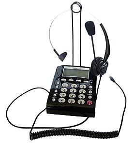 Amazon Com Lotfancy New Headset Feature Telephone T400 border=