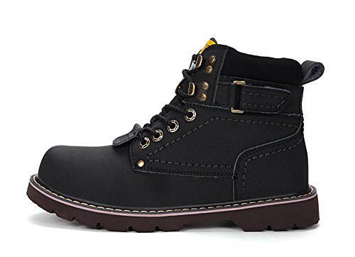 ENLEN&BENNA WomenMen's Work Boots Safety Boots Composite Toe Cap Waterproof Tan Casual Motorcycle Boot Lightweight by ENLEN&BENNA (Image #1)