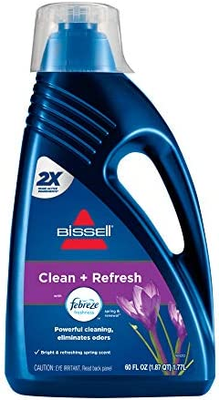 BISSELL DeepClean + Refresh with Febreze Freshness Spring & Renewal Formula, 1052A, 60 oz