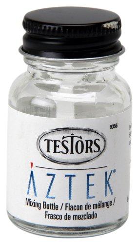 Aztek Metal (Aztek Bulk Glass Paint Storage Bottle, 1-Ounce)