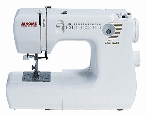 Janome Jem Gold 660 12-Stitch Compact Lightweight Sewing Quilting Machine