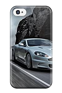 For AnnaSanders Iphone Protective Case, High Quality For Iphone 4/4s Aston Martin Vehicles Cars Aston Martin Skin Case Cover