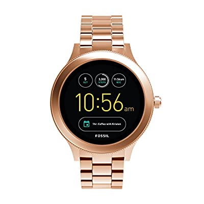 Fossil Gen 3 Smartwatch - Q Venture Rose Gold-Tone Stainless Steel FTW6000
