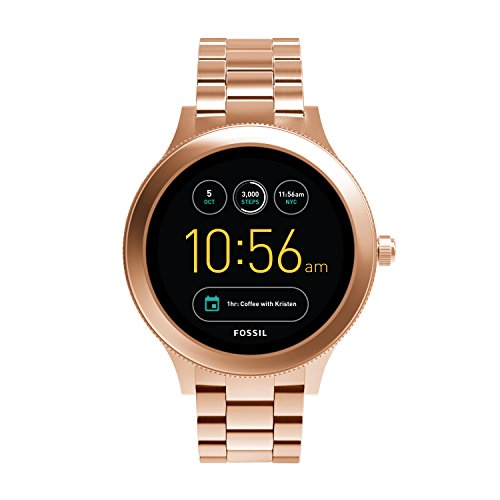Fossil Gen 3 Smartwatch - Q Venture Rose Gold-Tone Stainless Steel FTW6000 by Fossil