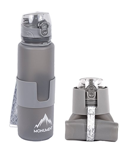 filtered collapsible water bottle - 1