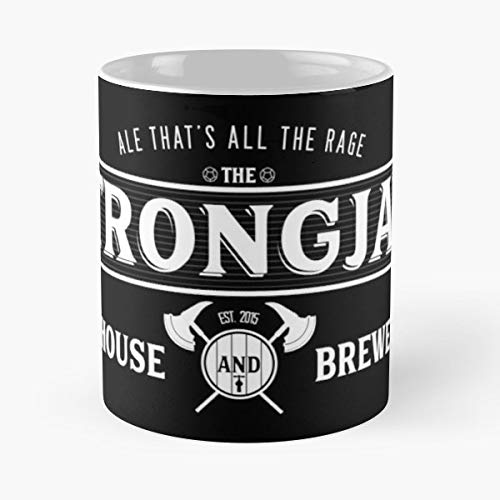 (Grog Strongjaw Vox Machina Critical Role Crit - 11 Oz Coffee Mugs Unique Ceramic Novelty Cup, The Best Gift For Holidays.)