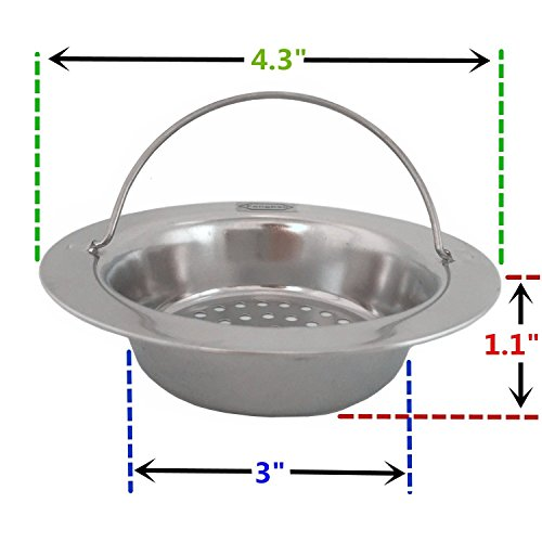 Fengbao  Stainless Steel Kitchen Sink Strainer Large