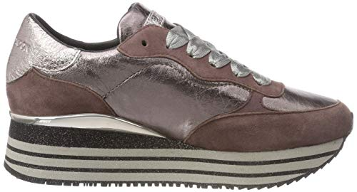 23 Basses 023 Rose Crime 25503aa1 cipria Sneakers Femme London ZRESwqE
