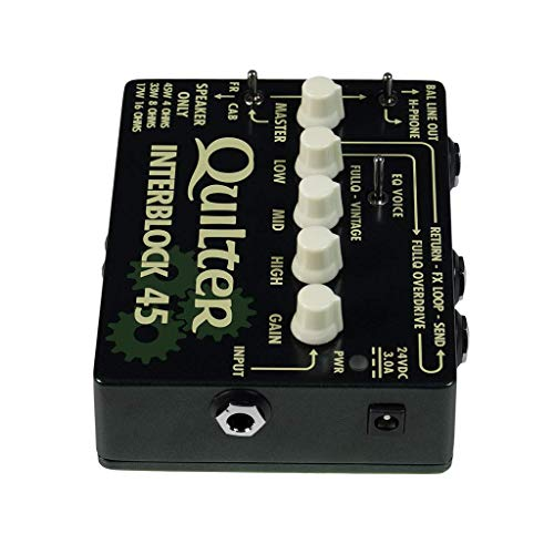 Quilter InterBlock 45 45-Watt Guitar Amplifier/Preamp Pedal by Quilter (Image #3)