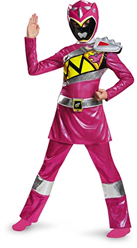 Disguise Pink Ranger Dino Charge Deluxe Costume, Large -