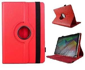 "theoutlettablet® Funda Giratoria 360º para Tablet Archos 70 Xenon 7"" - ROJA"