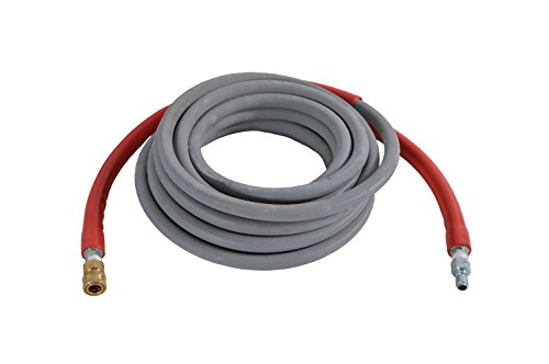 SIMPSON Cleaning 41187 10000 PSI R2 Wrapped Rubber Hot and Cold Water Replacement/Extension Hose for Gas Pressure Washers, 3/8-Inch by 50-Feet 50' Extension Replacement Hose