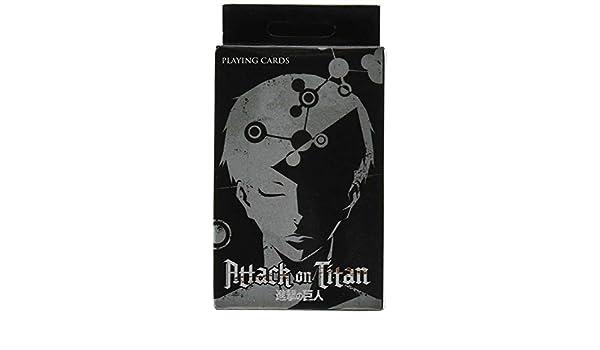 Juego de cartas – Ataque en Titan – nueva Poker juego juguetes con licencia ge51582: Amazon.es: Juguetes y juegos