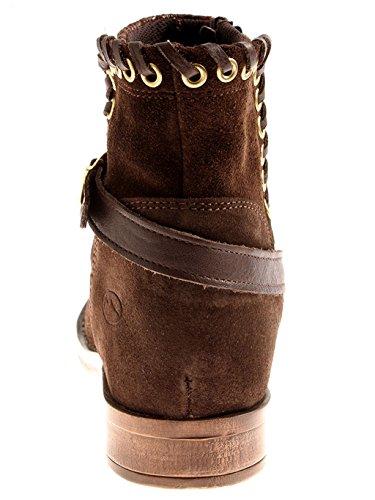 de Laine Marron Chaussures Hiver 022 Kathamag 1702 Bottines Motard Bottes Bottines 5zZWAfq