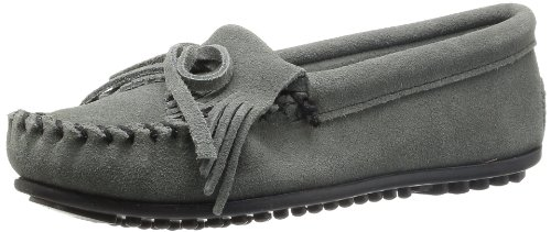 Minnetonka Kilty Blue 409 - Womens Moccasins
