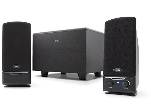 Cyber Acoustics 2.1 Powered Speaker System (CA-3001RB) by Cyber Acoustics