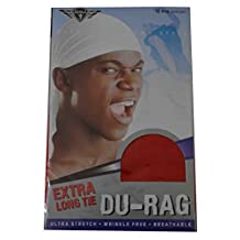King J Pack Of 2 Durag Extra Long Expand Breathable Fit All Head Sizes