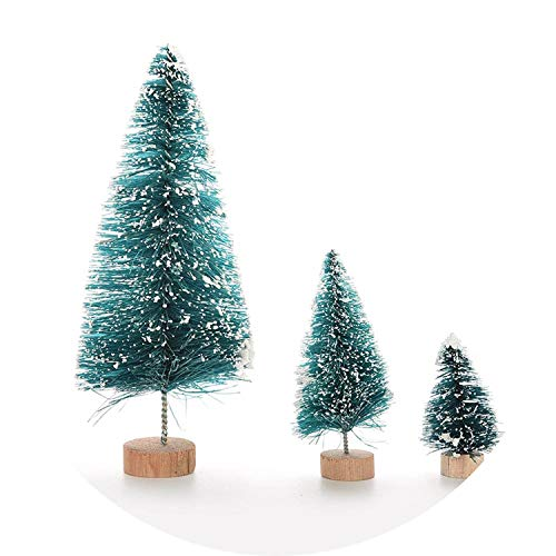 DIY Christmas Tree Ornaments Small Pine Tree Placed in The Desktop Mini Home Decor Christmas -
