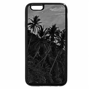 iPhone 6S Case, iPhone 6 Case (Black & White) - Sunset over Fiji