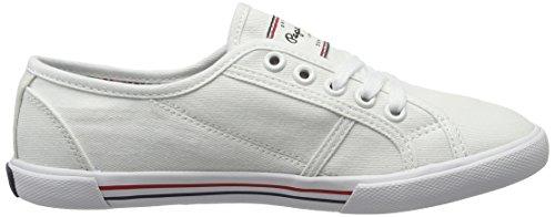 Basic White 17 Damen Blau Sneaker Jeans Weiß Aberlady Pepe t1gUqW