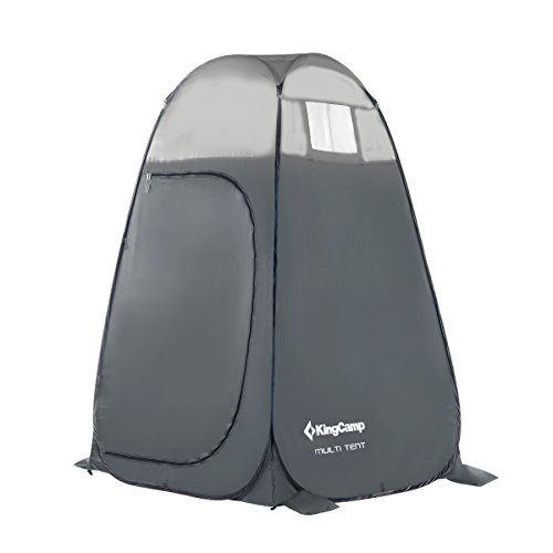 KingCamp-Portable-Pop-Up-Privacy-Shelter-Dressing-Changing-Privy-Tent-Cabana-Screen-Room-w-Weight-Bag-for-Camping-Shower-Fishing-Bathing-Toilet-Beach-Park-Carry-Bag-Included