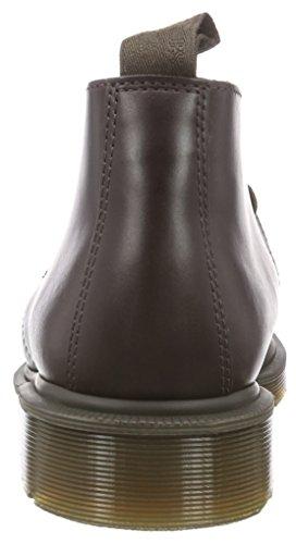 Dr. Martens Menns Mørke Brunt Ray Skinn Chukka Boots-uk 9