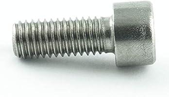 Eisenwaren2000 Edelstahl A2 V2A- rostfrei DIN 912 10 St/ück - Zylinderkopf Schrauben ISO 4762 Zylinderschrauben mit Innensechskant M2,5 x 20 mm Gewindeschrauben
